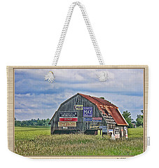 Weekender Tote Bag featuring the photograph Vote For Me II by Debbie Portwood