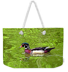 Water Wood Duck Weekender Tote Bag