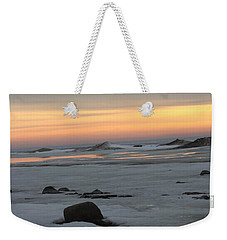 Winter Evening Lights Weekender Tote Bag