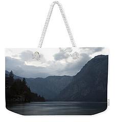 Lake Bohinj At Dusk Weekender Tote Bag