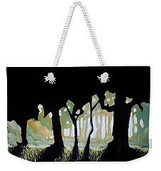 Weekender Tote Bag featuring the painting ... by Mariusz Zawadzki