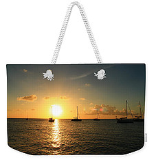 Sunset Weekender Tote Bag by Catie Canetti