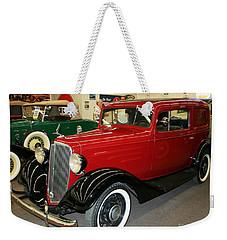 1930's Antique Chevrolet Sedan Weekender Tote Bag