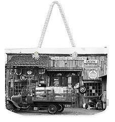1930's Gas Station Weekender Tote Bag