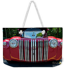 1947 Ford Truck Weekender Tote Bag by Mark Dodd