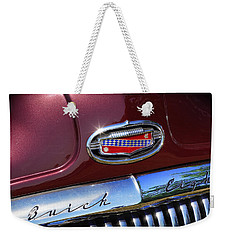 Weekender Tote Bag featuring the photograph 1951 Buick Eight by Gordon Dean II