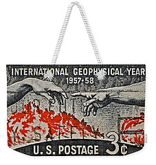 1957-1958 International Geophysical Year Stamp Weekender Tote Bag