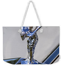 Weekender Tote Bag featuring the photograph 1965 Rolls Royce Silver Cloud IIi Mpw Coupe by Gordon Dean II