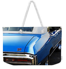 Weekender Tote Bag featuring the photograph 1971 Buick Gs by Gordon Dean II