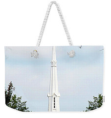1st Christian Steeple Weekender Tote Bag by Kay Lovingood