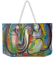 2 Snails And 3 Elephants Weekender Tote Bag
