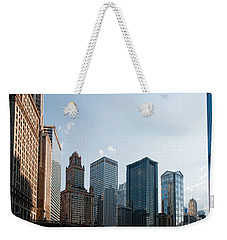 Chicago City Center Weekender Tote Bag