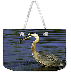 Weekender Tote Bag featuring the photograph 2 For 1 Dinner Special by Clayton Bruster
