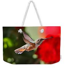 Hummingbird 3 Weekender Tote Bag