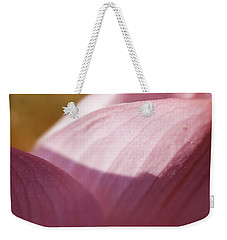 Nelumbo 'red Scarf' Weekender Tote Bag