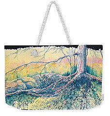 Rooted In Time Weekender Tote Bag