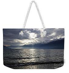 Sunlight Over A Lake Weekender Tote Bag