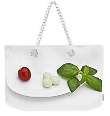 Tomato Mozzarella Weekender Tote Bag