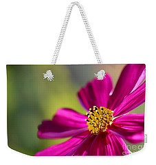 Weekender Tote Bag featuring the photograph Yellow Dots by Henrik Lehnerer