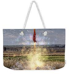 3 2 1 Launch Weekender Tote Bag