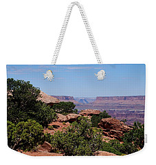 By The Canyon Weekender Tote Bag