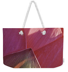 Nelumbo 'mrs. Perry Slocum' Weekender Tote Bag