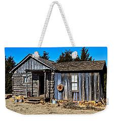 Old Cabin Weekender Tote Bag by Doug Long