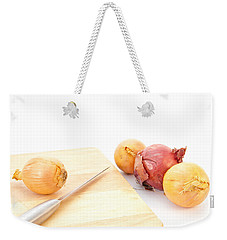 Onions Weekender Tote Bag by Tom Gowanlock