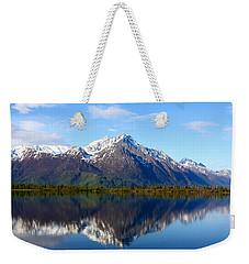 Pioneer Peak Weekender Tote Bag