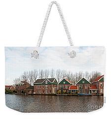 Weekender Tote Bag featuring the digital art Scenes From Amsterdam by Carol Ailles