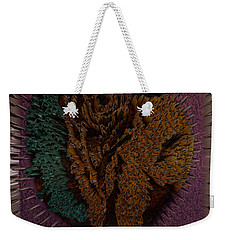 3d Bear In The Woods Weekender Tote Bag