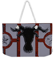 3d Cow In Spikes Weekender Tote Bag