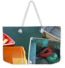 4 Row Boats Weekender Tote Bag