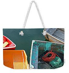 4 Row Boats Weekender Tote Bag