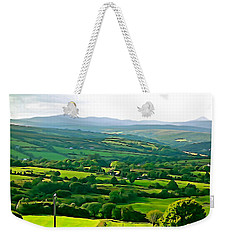 Weekender Tote Bag featuring the photograph 50 Shades Of Green by Charlie and Norma Brock