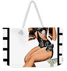 50s Oh Yeah Weekender Tote Bag by Tbone Oliver