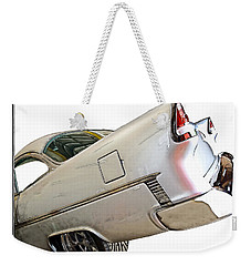 Weekender Tote Bag featuring the photograph '55 Chevy by Susan Leggett
