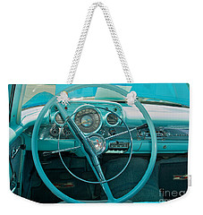 57 Chevy Bel Air Interior 2 Weekender Tote Bag