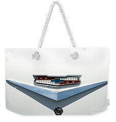 57 Chevy Emblem Weekender Tote Bag by Mark Dodd