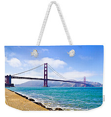 75 Years - Golden Gate - San Francisco Weekender Tote Bag