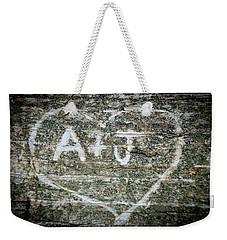 A And J Weekender Tote Bag