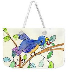 A Bird Weekender Tote Bag