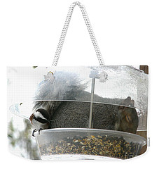Weekender Tote Bag featuring the photograph A Bit Crowded by Rory Sagner