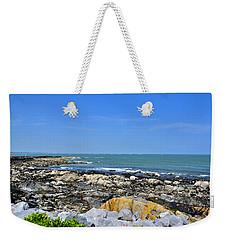 A Blue Skerries Sky Weekender Tote Bag