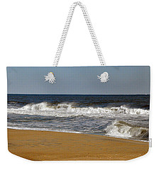 Weekender Tote Bag featuring the photograph A Brisk Day by Sarah McKoy