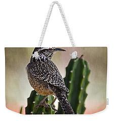 A Cactus Wren  Weekender Tote Bag