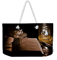 A Candlelight Scene Weekender Tote Bag