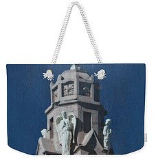 A Church Tower Weekender Tote Bag