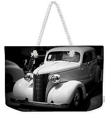 A Classic Ride Weekender Tote Bag by Perry Webster