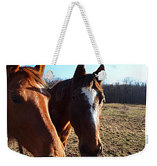 A Cowboys Best Friend Weekender Tote Bag